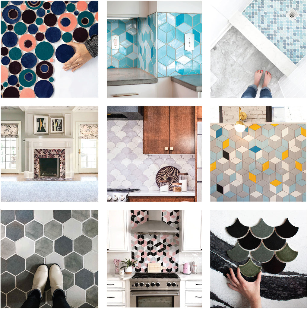 Handmade Tile Personalized Blends