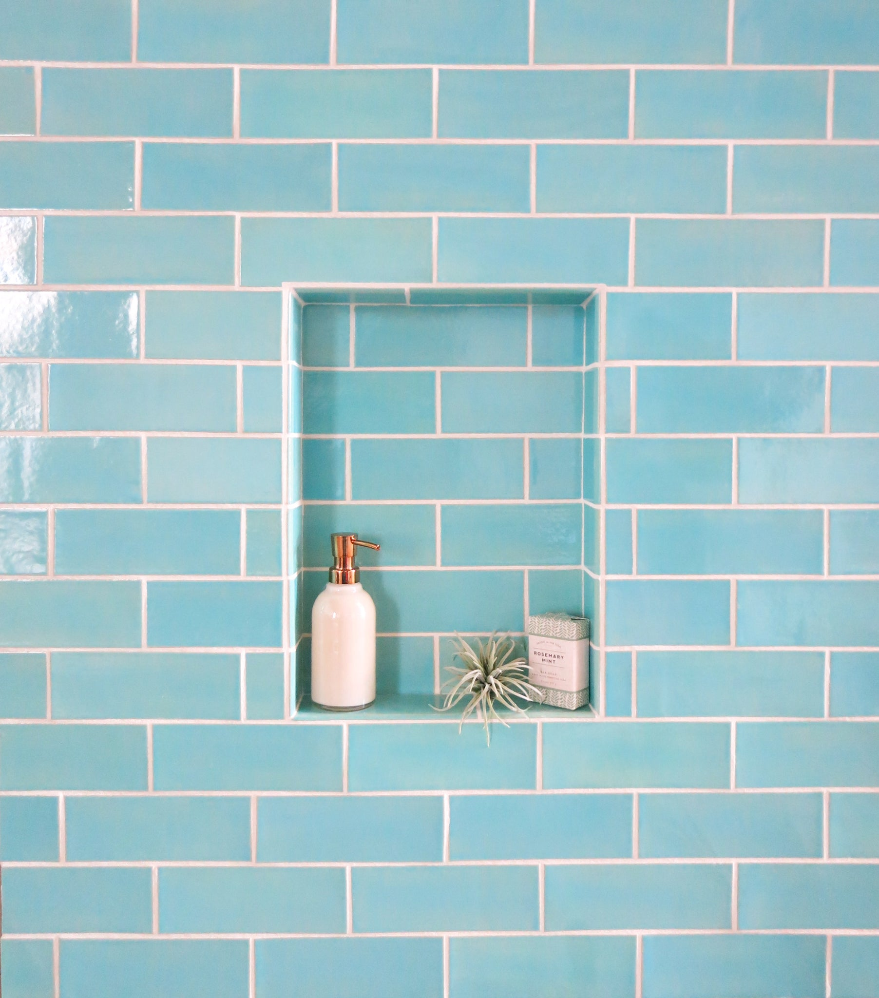How to Plan for Your Bathroom Niche - Mercury Mosaics