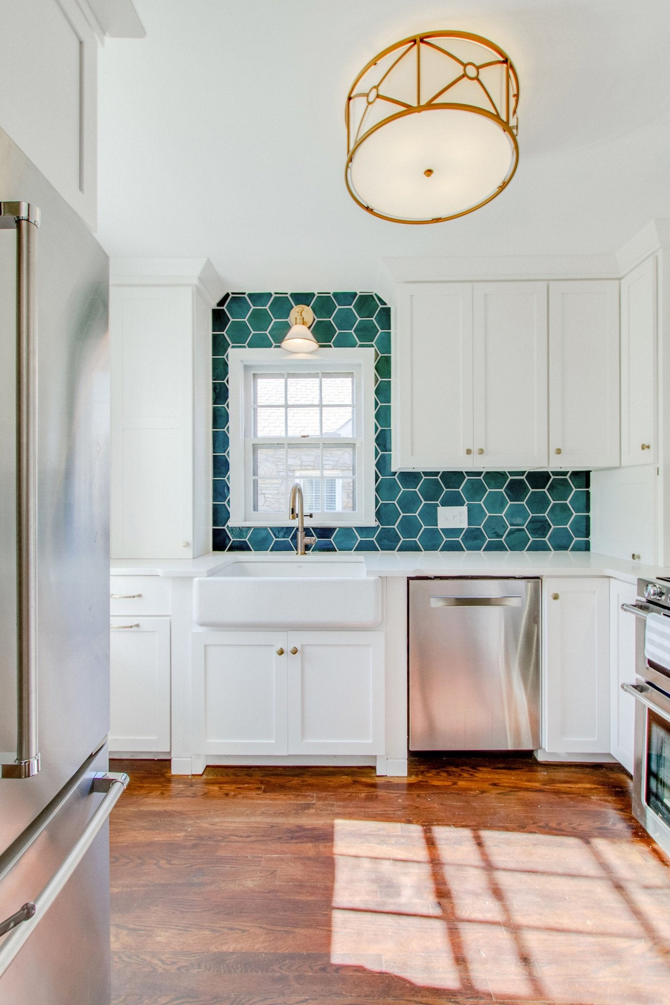 Boho Kitchen Tile Design