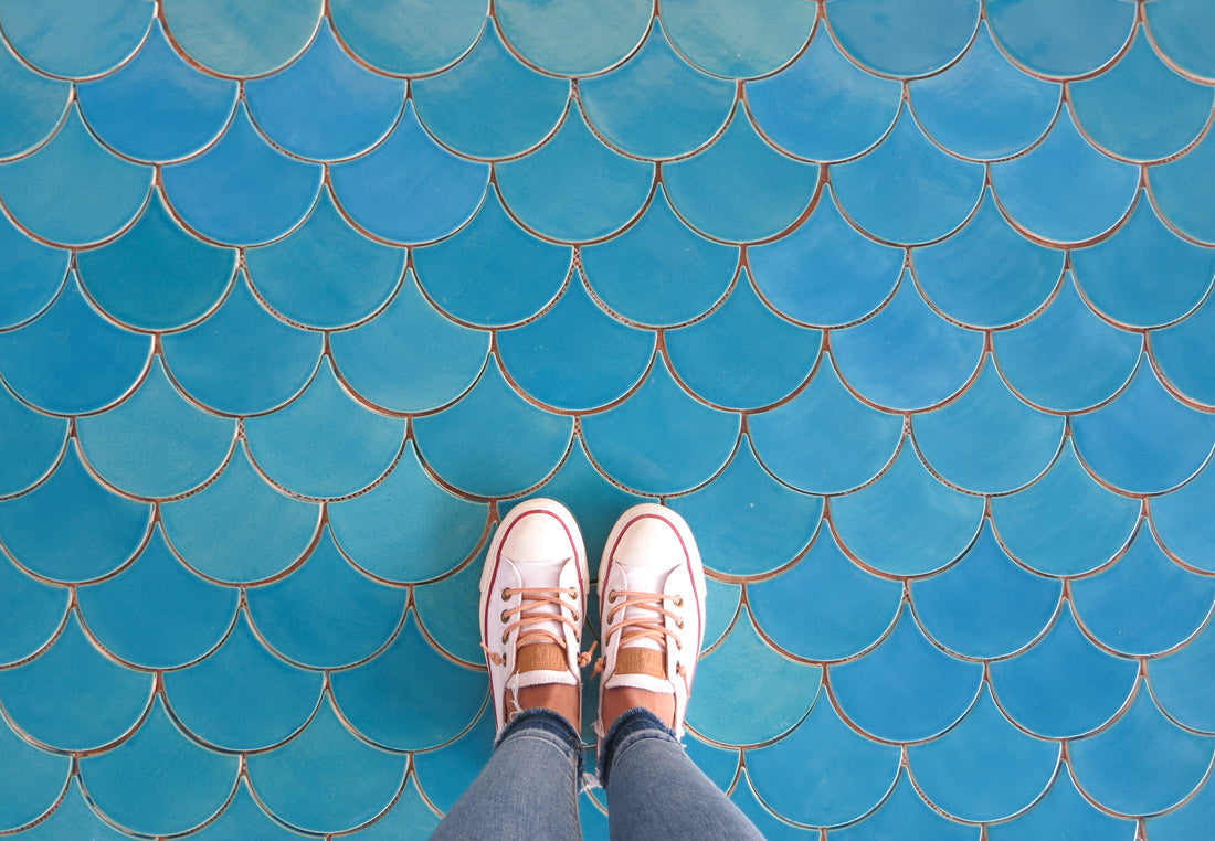 Bright and Bold Floor Tile