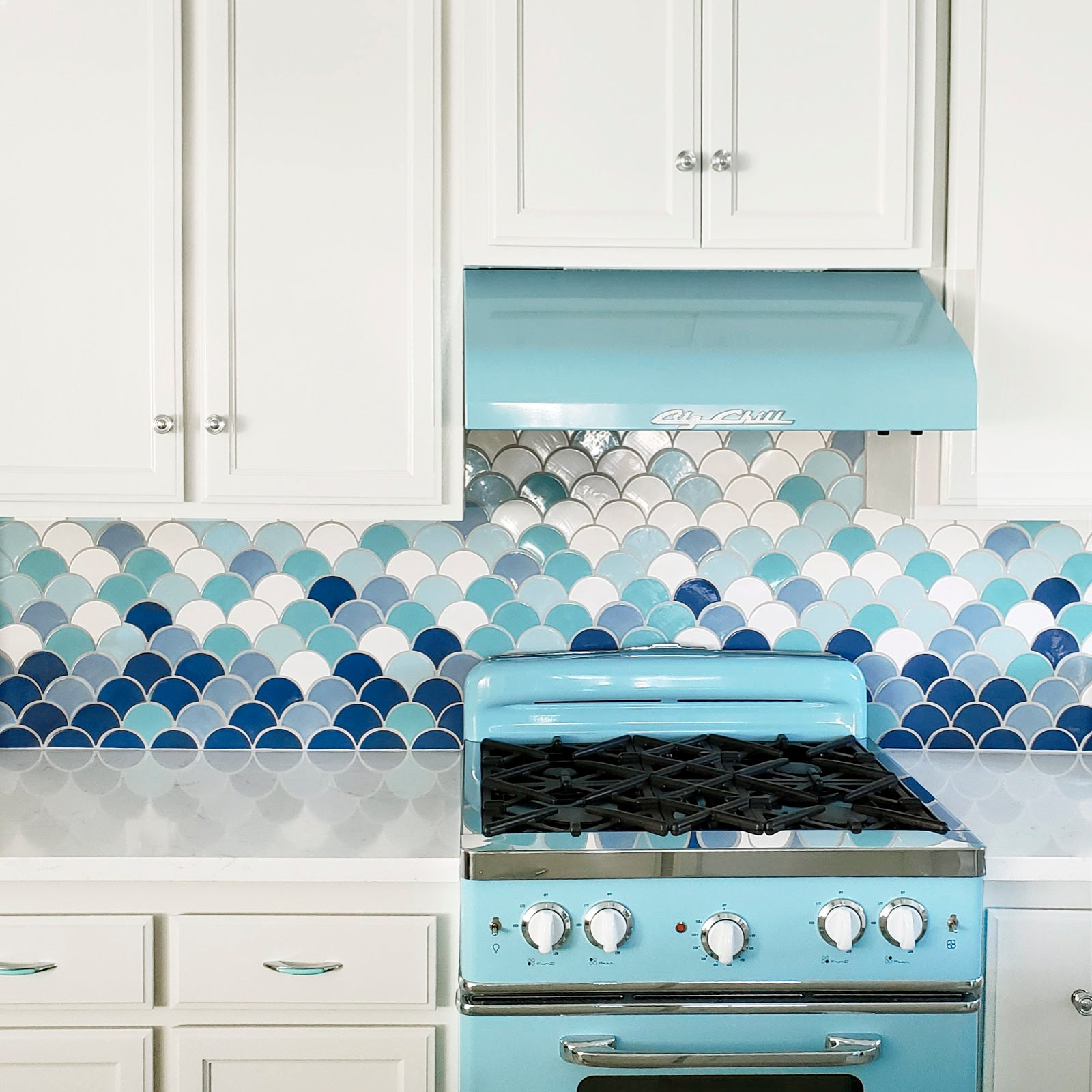 Coastal Kitchen Tile Design