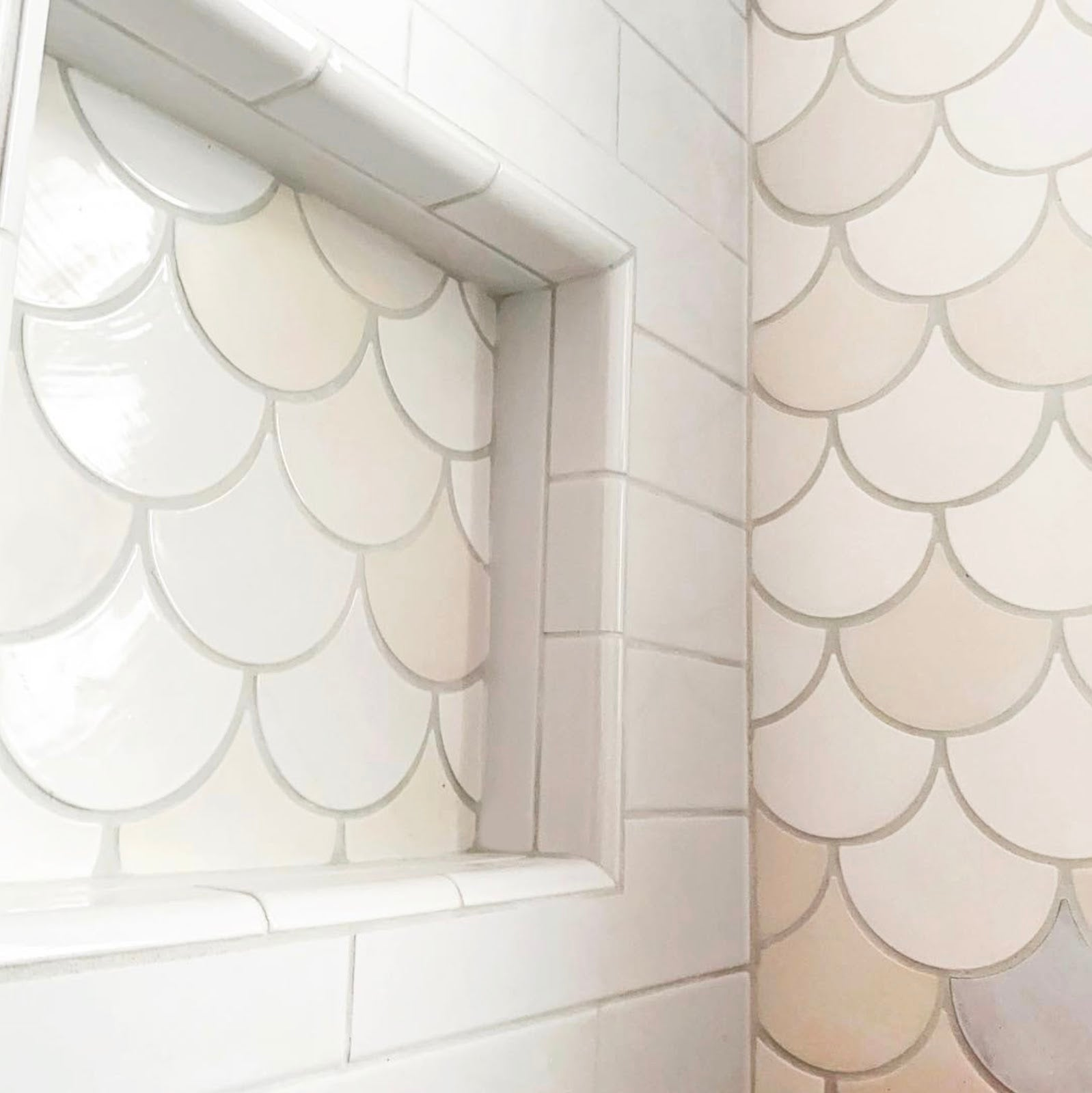 6 Niche Ideas For Chic Shower Shelving