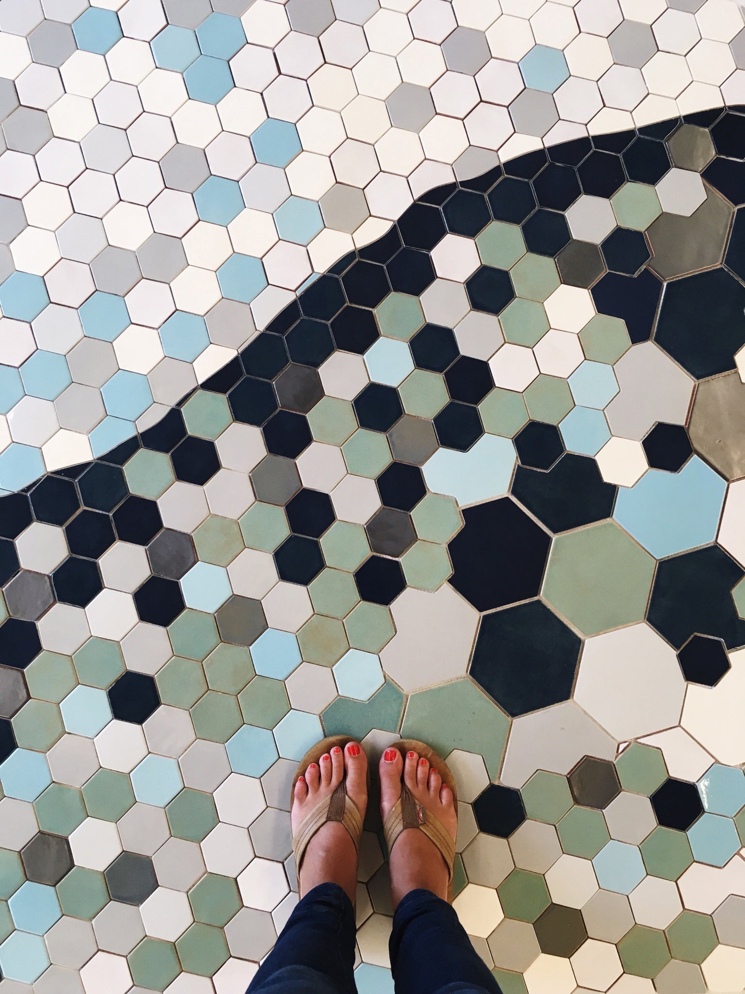 Custom Mosaic Tile Floor