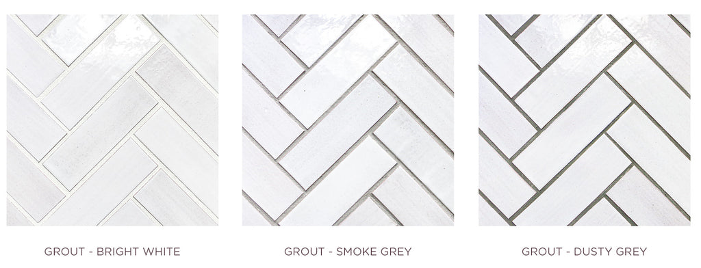 Grout Options - Light, Medium, Dark