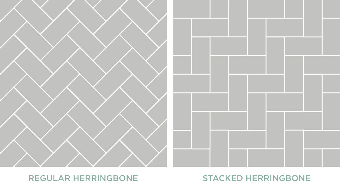 Why People Are Falling in Love With Herringbone Tile – Mercury Mosaics