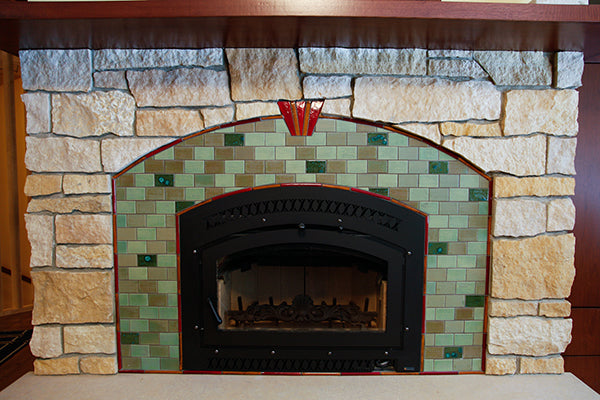 Kelley-Fireplace-Web-2-blog A Handmade Tile Craftsman Home Fireplaces Kitchens Residential Retail/Commercial