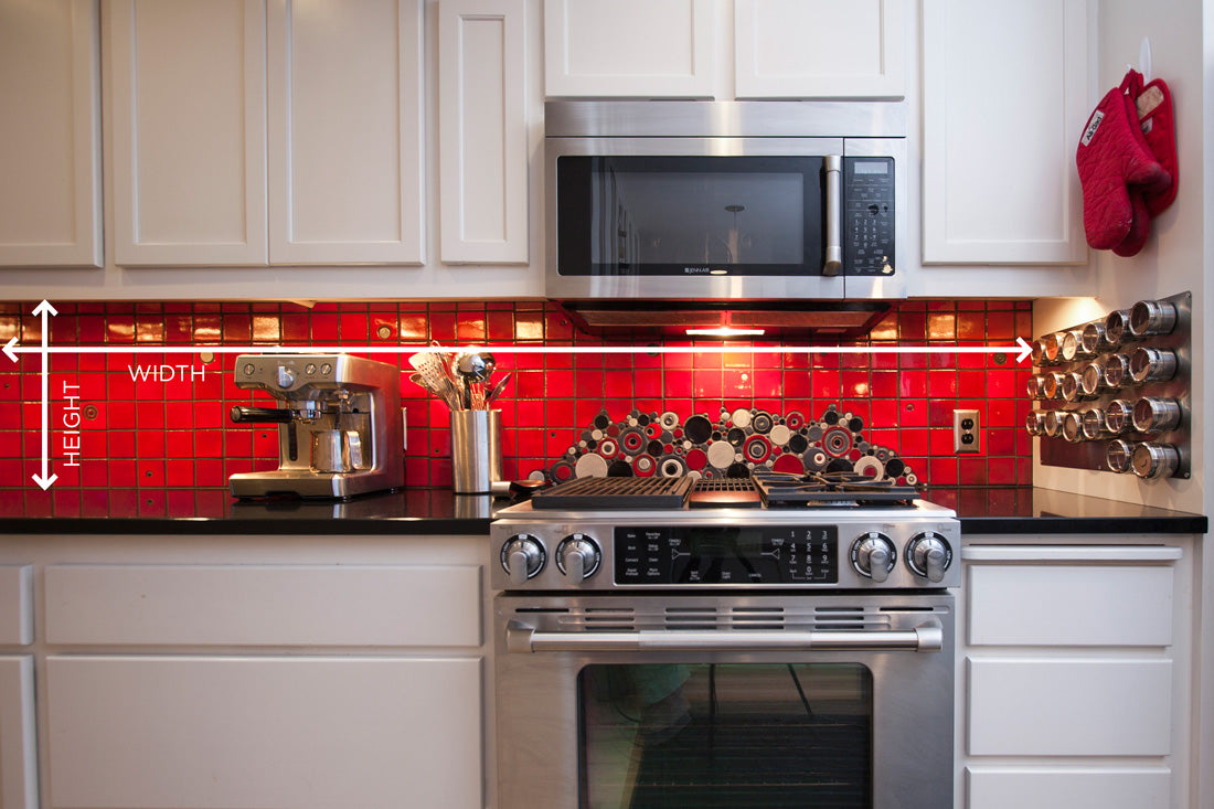 how to measure your kitchen backsplash – mercury mosaics