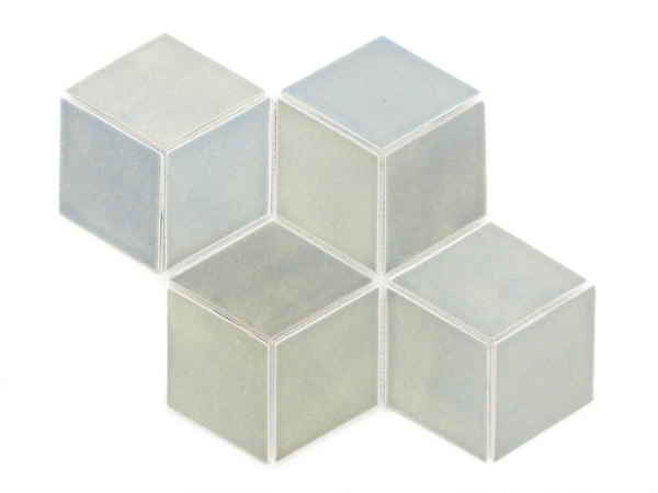 Medium Diamond Tiles 22E Blue Opal