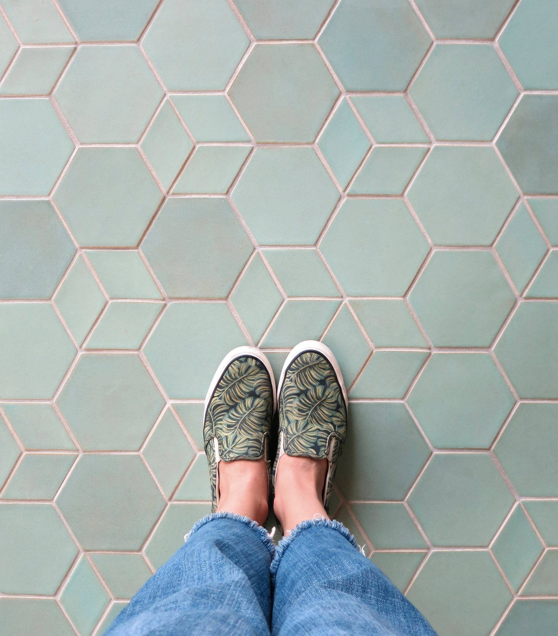 Mixing Tile Shapes Floor