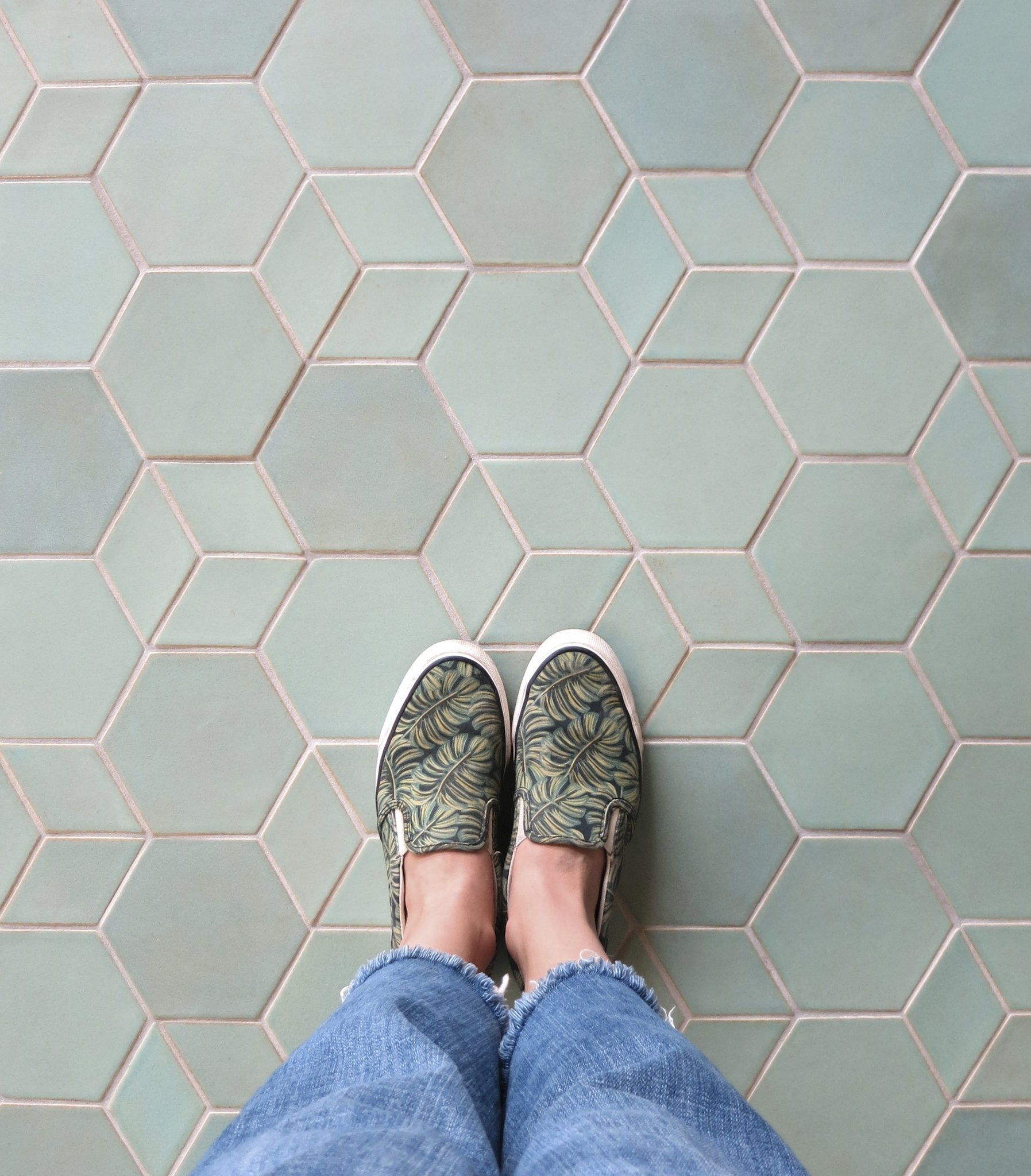 Mixed Shapes Floor Tile