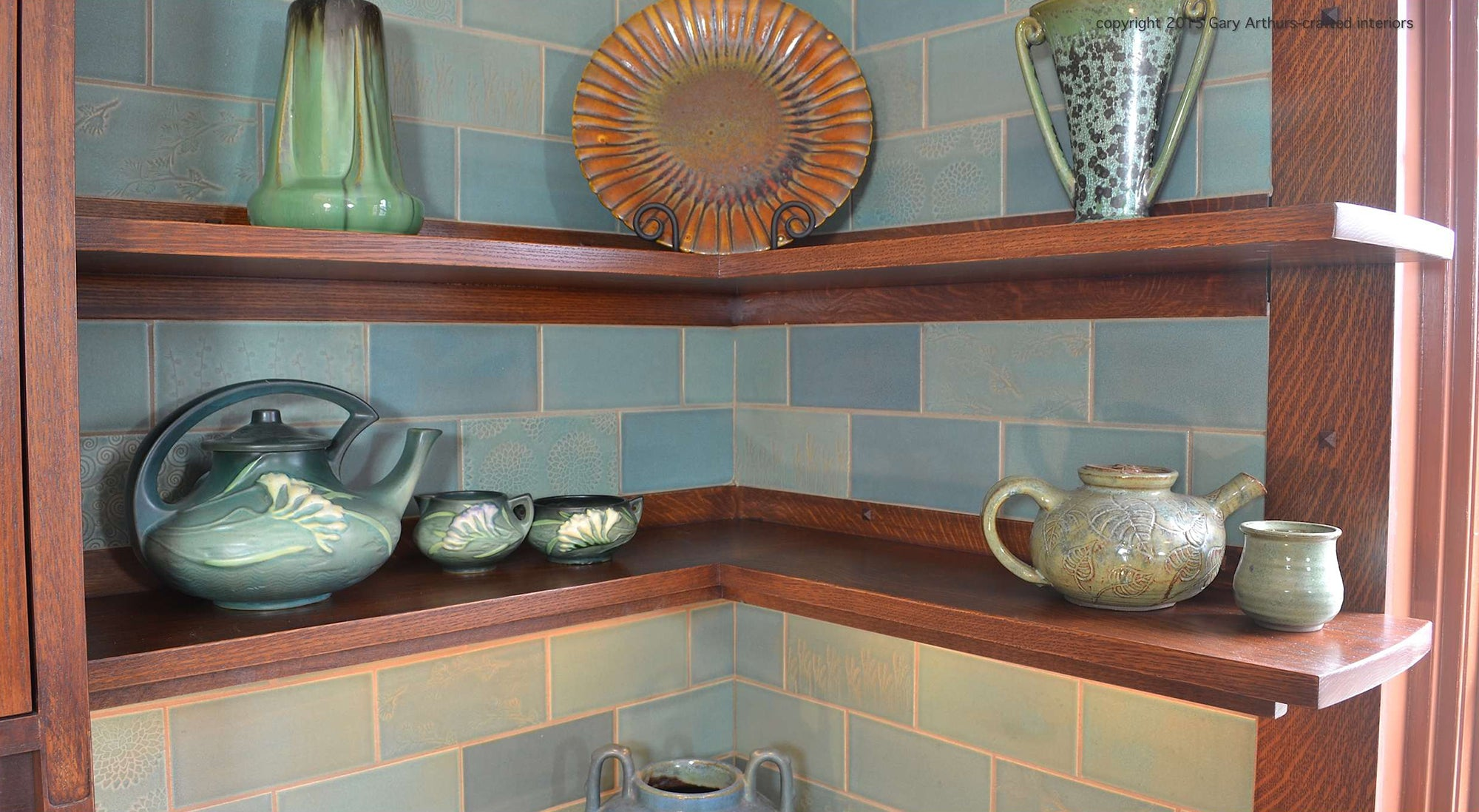 Modern Farmhouse Open Shelving Idea