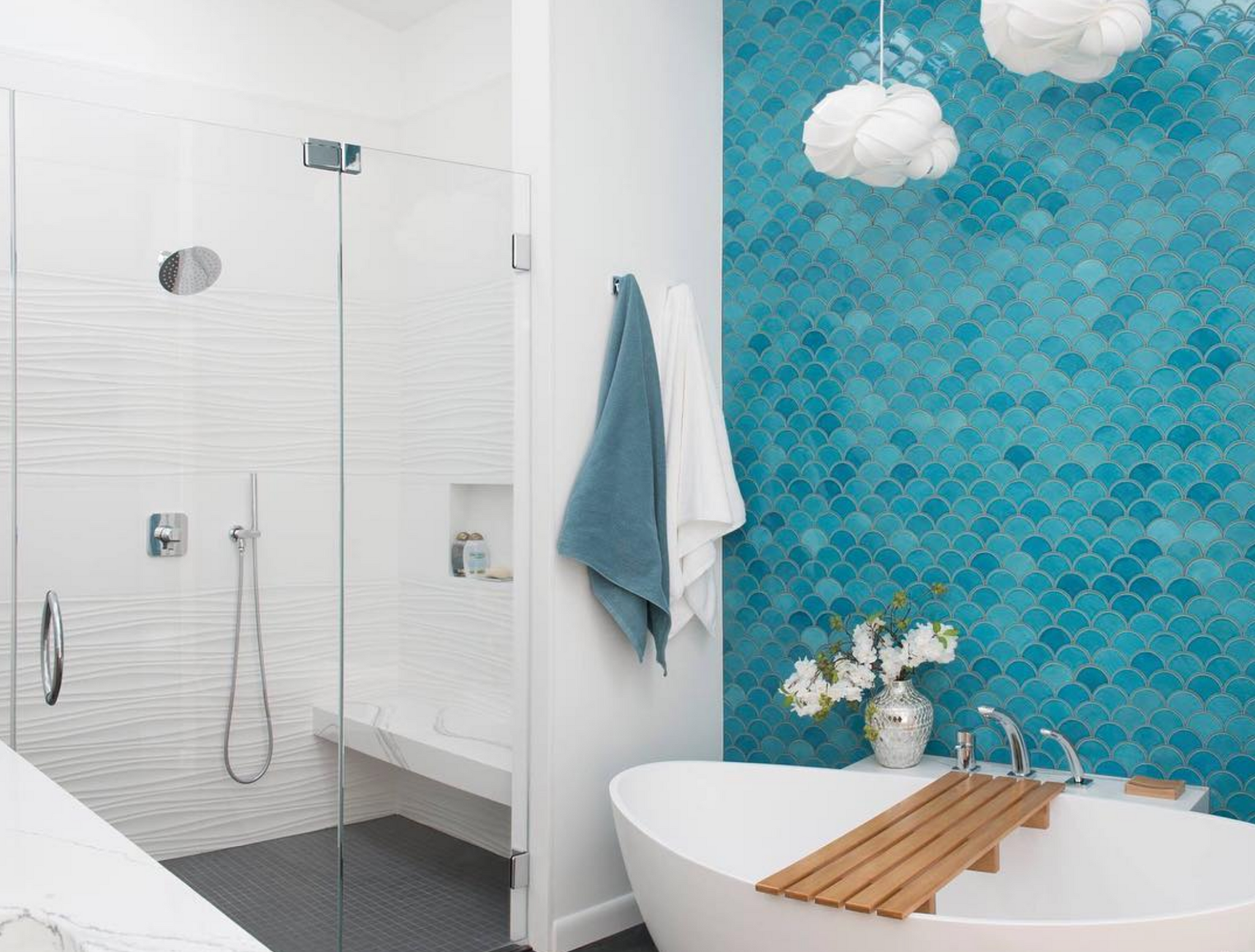 7 Unique Ways To Style Your Bathroom Tile Mercury Mosaics
