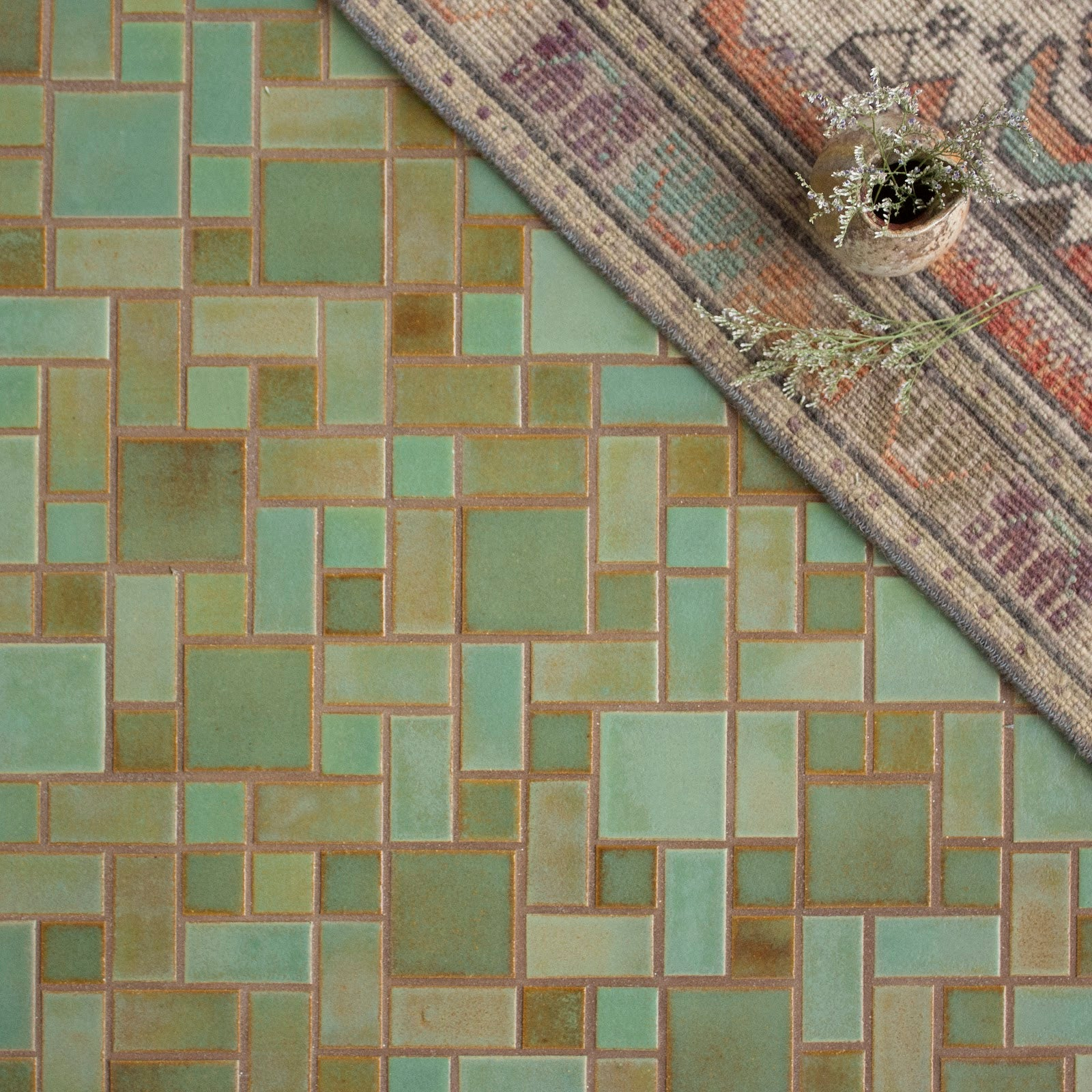 Patina Craftsman Square Floor