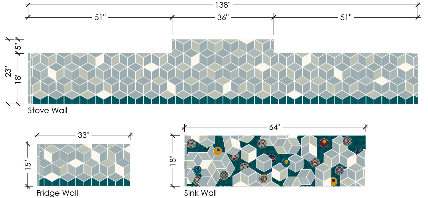 Retro Geometric Tile Pattern Preview