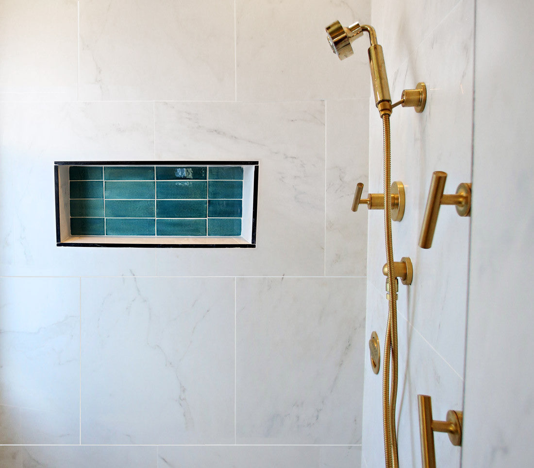 4 Shower Niche Ideas For Your Bathroom – Mercury Mosaics