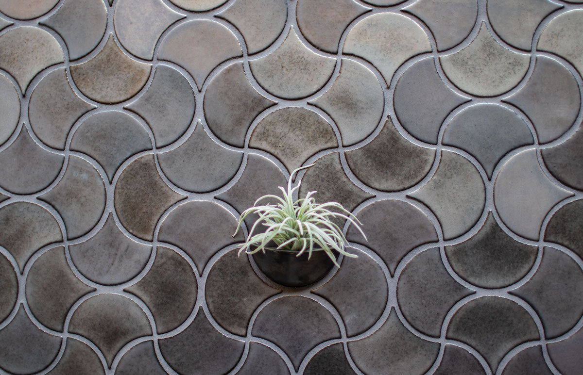 Steel Grey Wall Planter Vertical Gardern