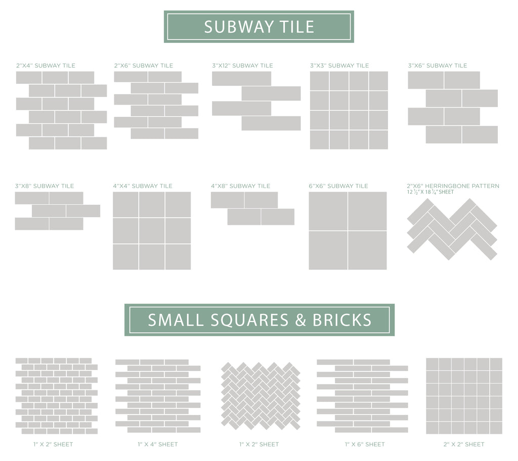 - How To Select Tile Sizes – Mercury Mosaics