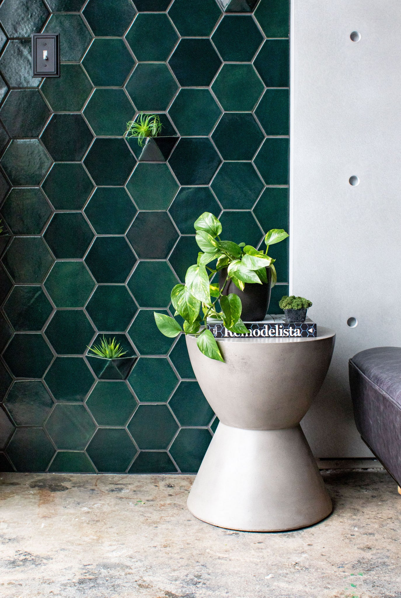 Tile and Concrete Combinations
