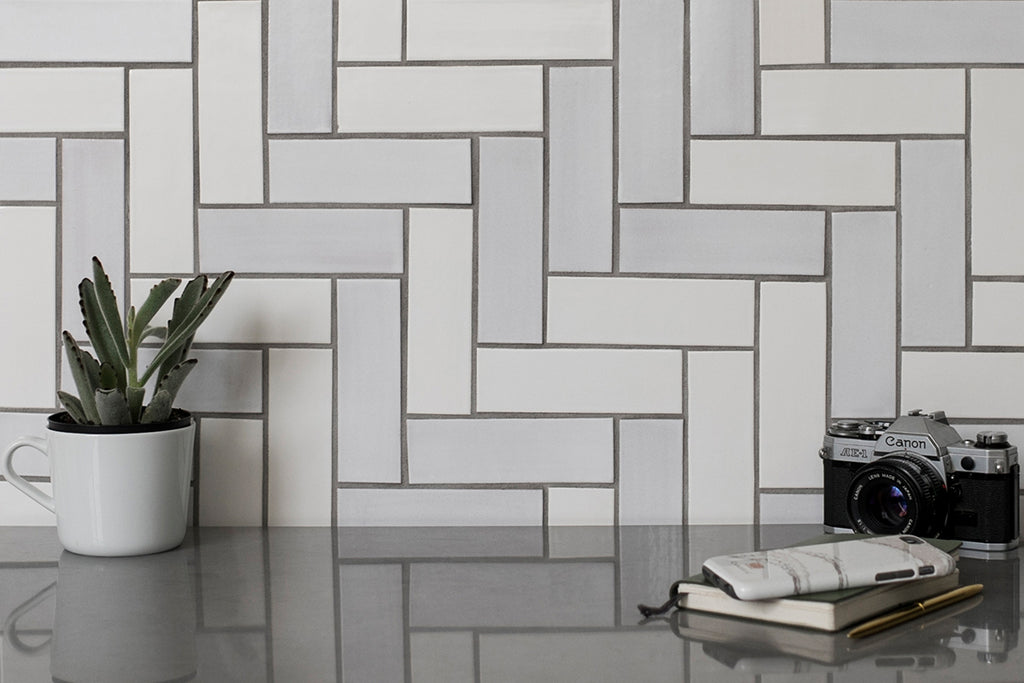 10 Herringbone Tile Ideas Mercury Mosaics