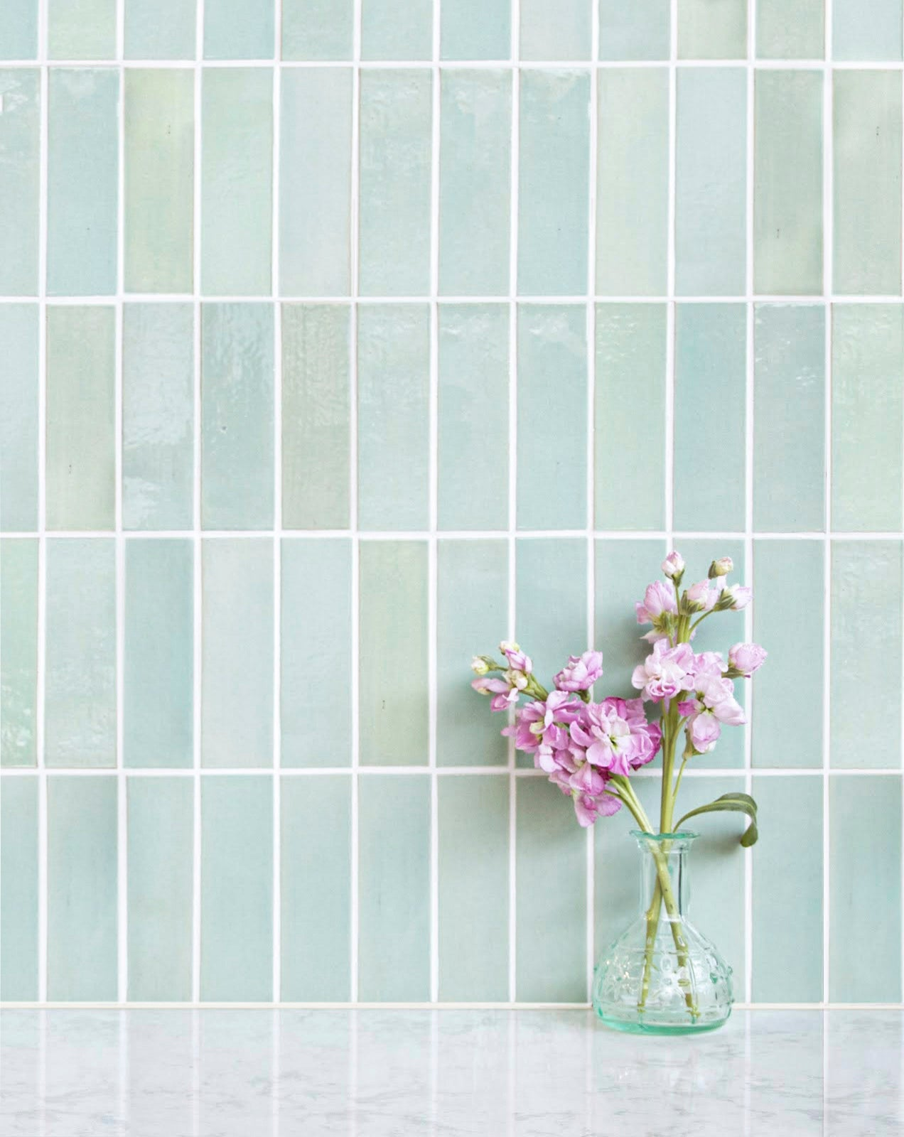 Vertical Stacked Ceramic Subway Tile