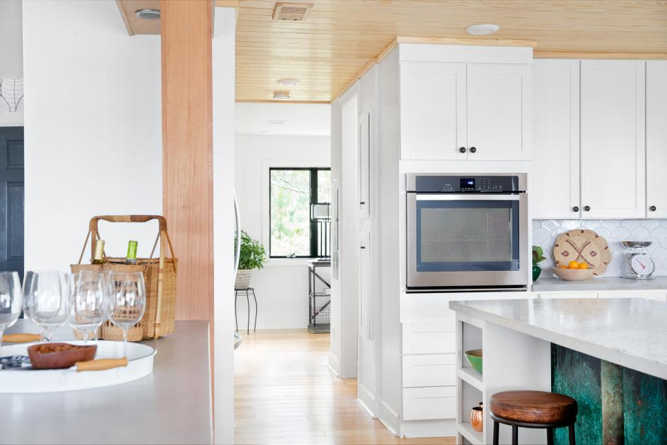 DIYBlogCabinKitchen092016 Inside the DIY Network's Blog Cabin Kitchen! All Kitchens Tile Inspiration   bc2016_kitchen-pantry_017_transition-to-pantry_h.jpg.rend_.hgtvcom.966.644 Inside the DIY Network's Blog Cabin Kitchen! All Kitchens Tile Inspiration