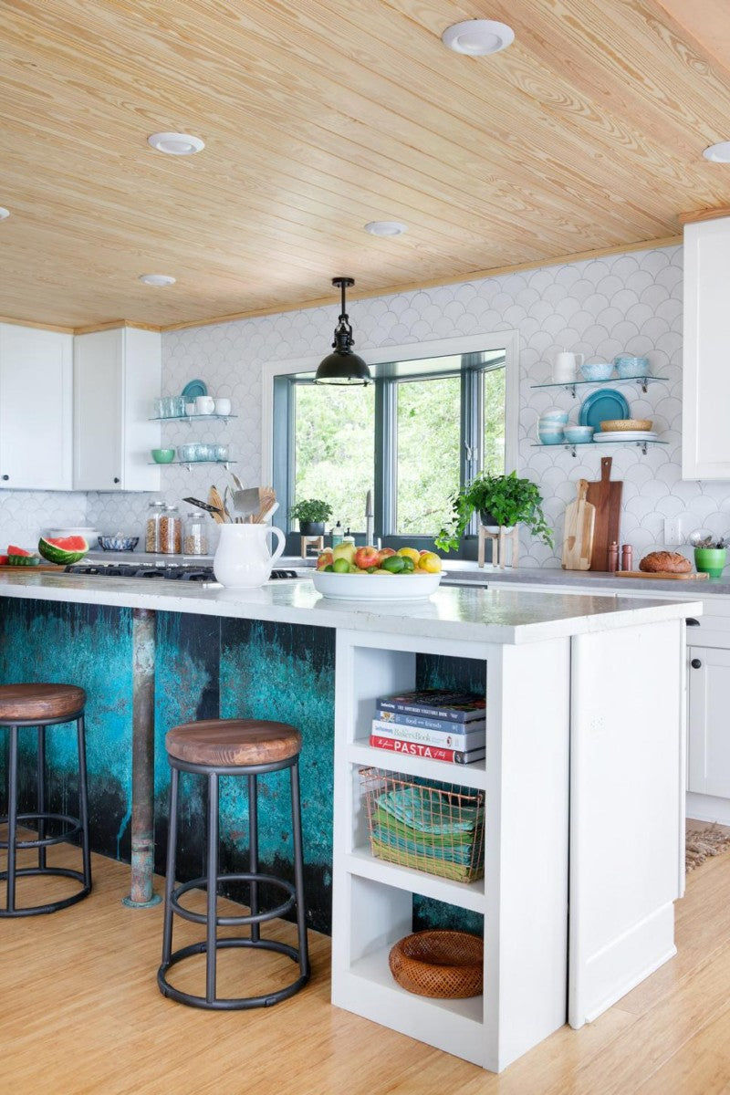 5 Examples of Color Personality with Handmade Tile – Mercury Mosaics