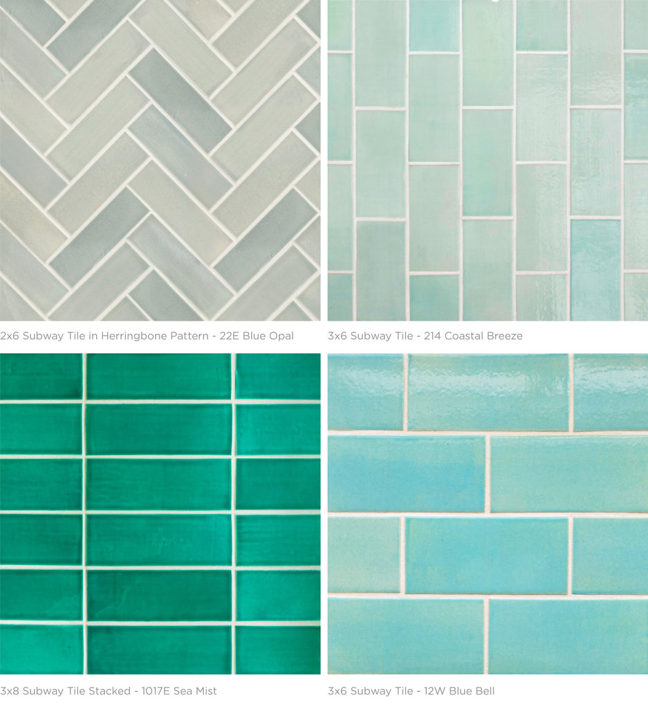 how to choose the perfect subway tile color