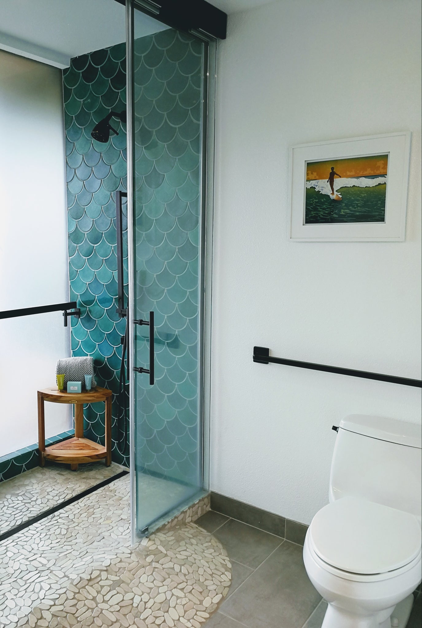11 Ways To Use Fish Scale Mosaics Wall Tile Pattern