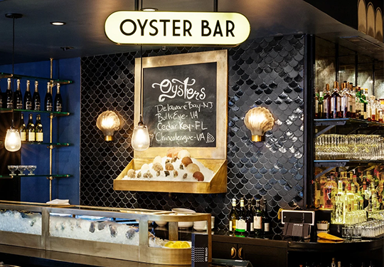 The Roxy Hotel NYC | Oyster Bar Tile