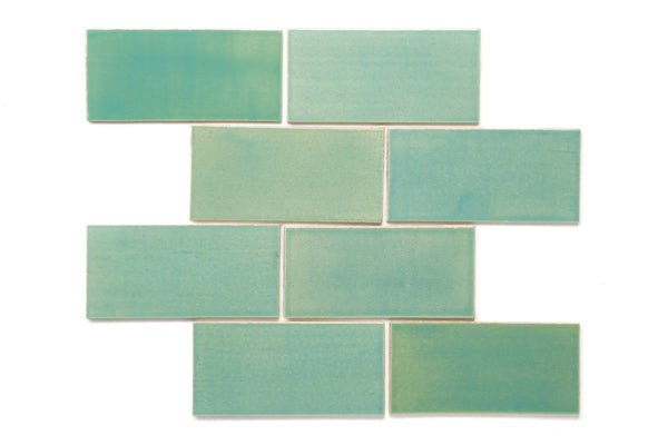 3x6 Subway Tile Mint Julep