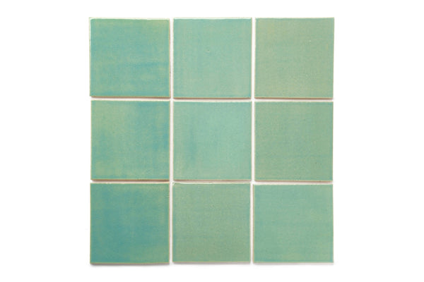 4x4 Subway Tile Mint Julep