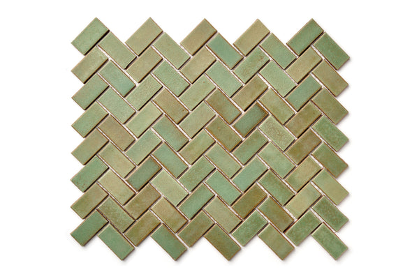 Herringbone pattern - Patina