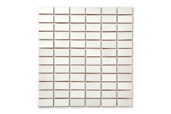 "1""x2"" Stacked Pattern - 130 White"