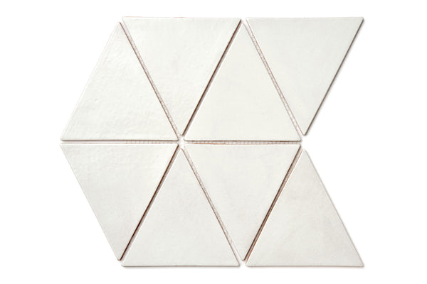 Large Triangle - 130 White