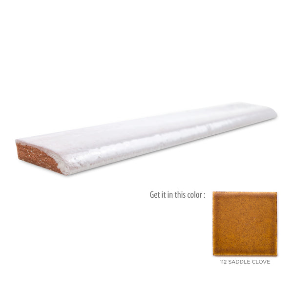 1x6 bullnose tile 112 Saddle Clove
