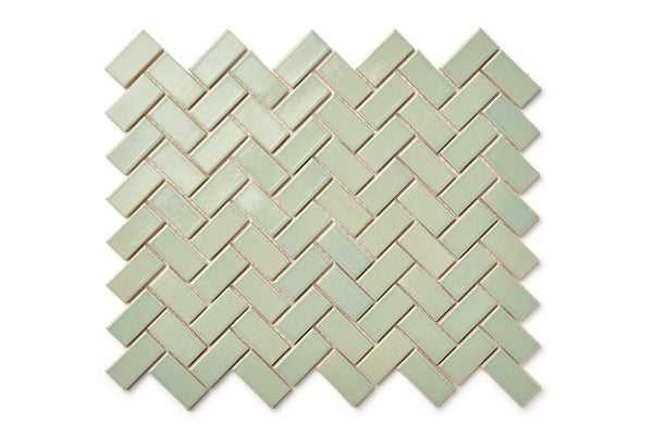 Herringbone pattern - Coastal Breeze