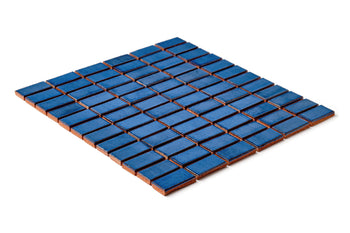 "1""x2"" Stacked Pattern - 23 Sapphire Blue"