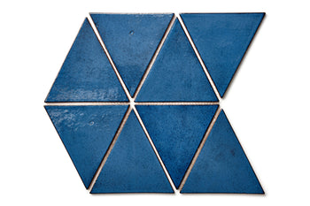 Large Triangles - 23 Sapphire Blue