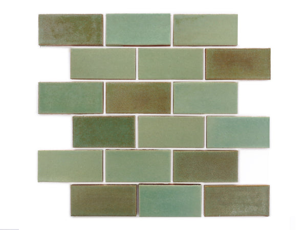 2x4 Subway Tile Patina