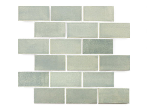 2x4 Subway Tile Blue Opal
