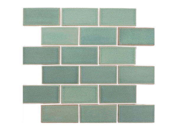 2x4 Subway Tile Old Copper