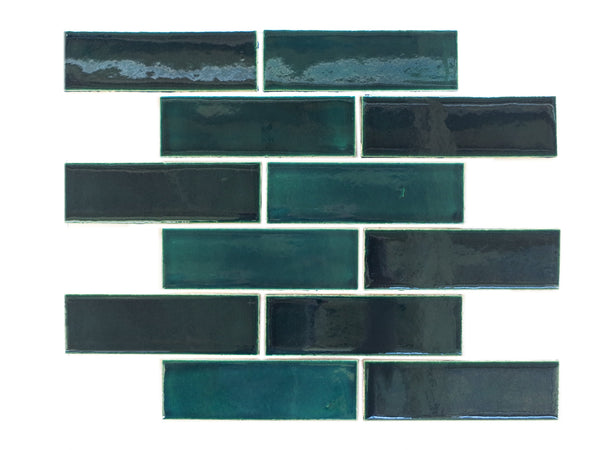 2x6 Subway Tile Bluegrass