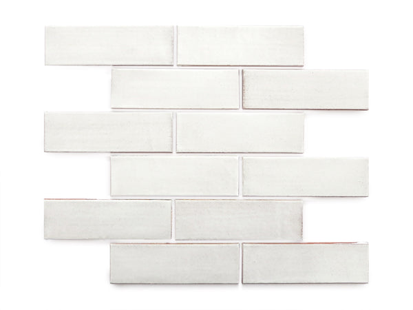 2x6 Subway Tile White