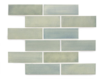 "2""x6"" Subway Tile - 22E Blue Opal"