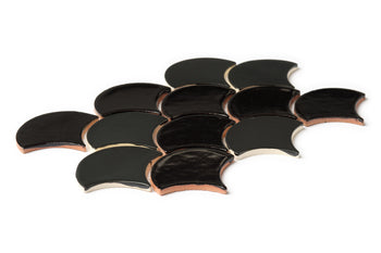 Medium Moroccan Fish Scales - Onyx Blend