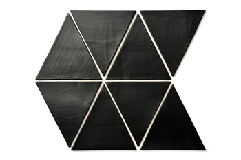 Large Triangles - 366 Satin Black