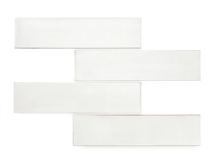 "3""x12"" Subway Tile - 130 White"