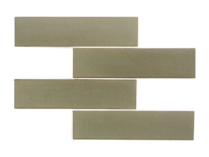 "3""x12"" Subway Tile - 406W Aged Moss"