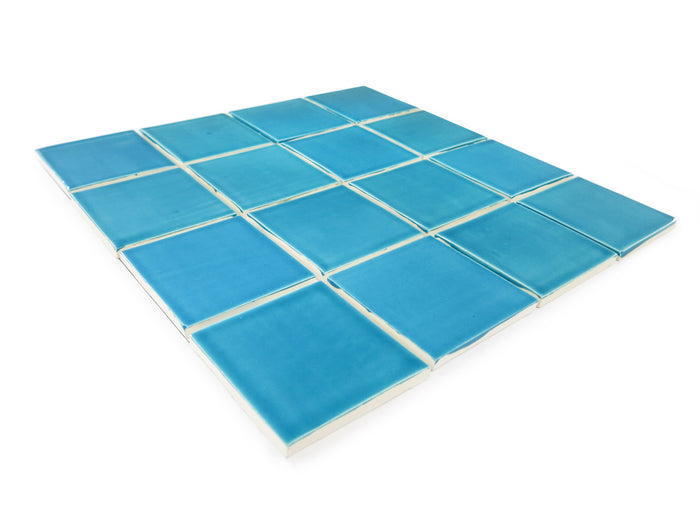 "3""x3"" Subway Tile - 1015E Caribbean Blue"