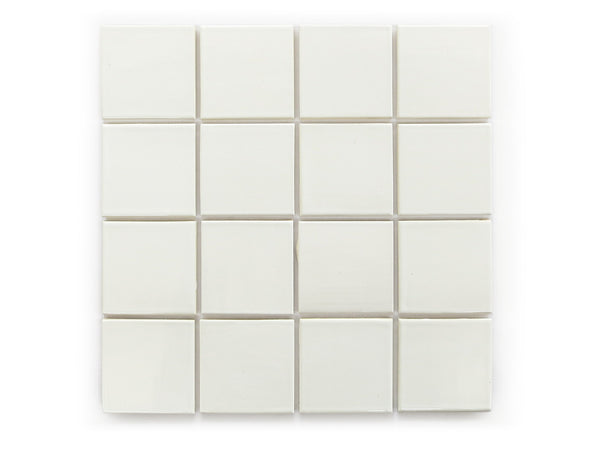 3x3 Subway Tile Deco White